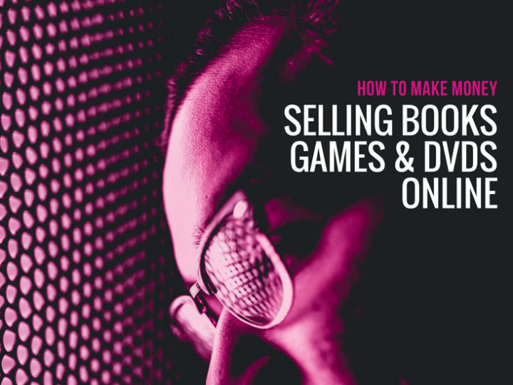 How to make money selling CDs, DVDs and Books online