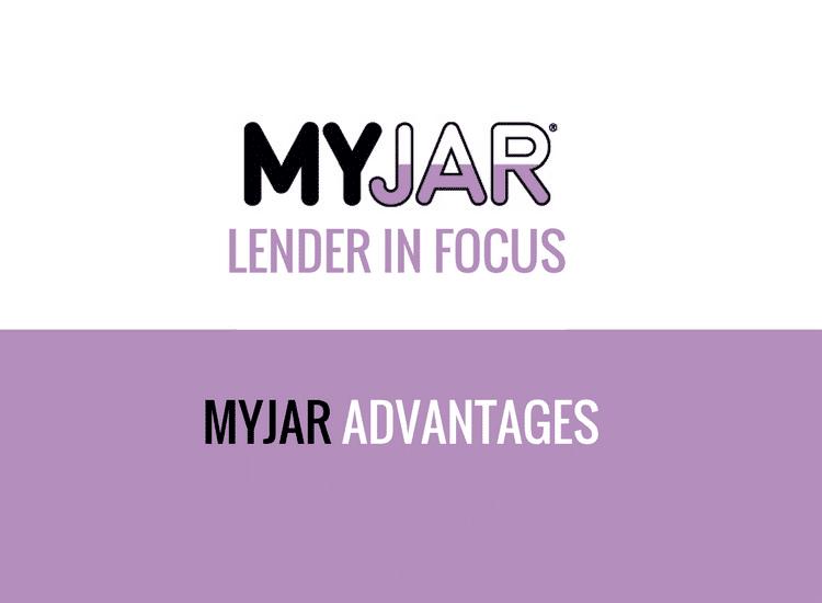 MYJAR Advantages