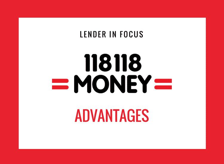 118 Advantages
