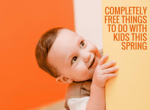Completely free things to do with kids this Spring
