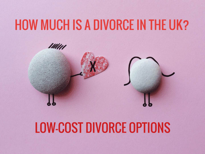 How much does a divorce cost in the UK? Low-cost divorce options could save you money