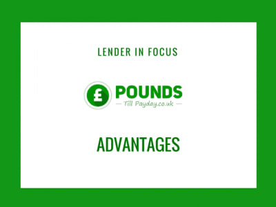 pounds till payday advantages