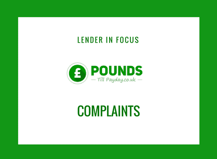 pounds till payday complaints