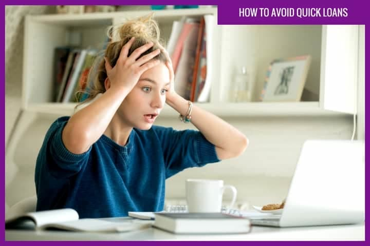 How to avoid quick loans