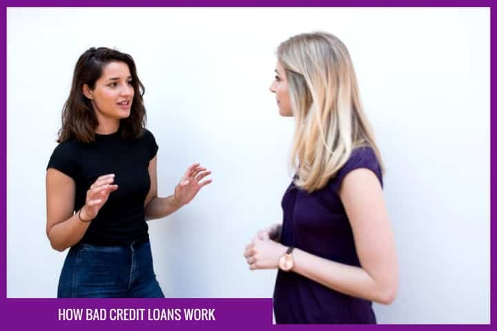 How do bad credit loans work?