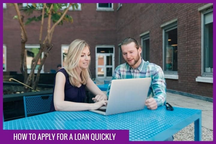 quick loan application