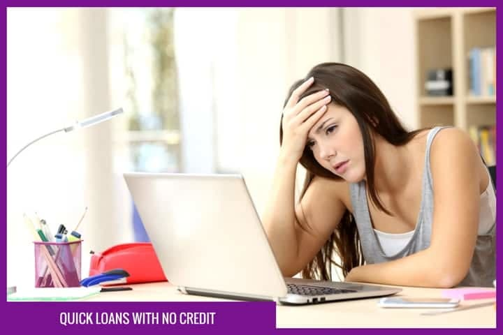 quick loans with no credit