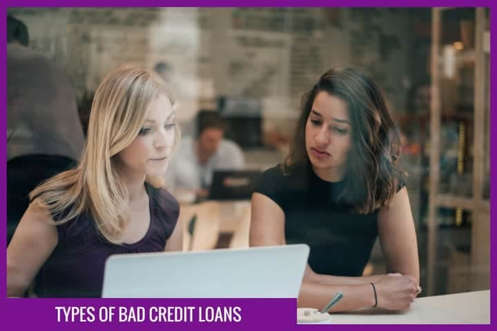 types of bad credit loans
