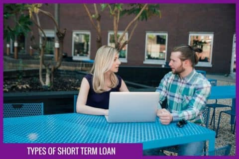 Types of short term loan