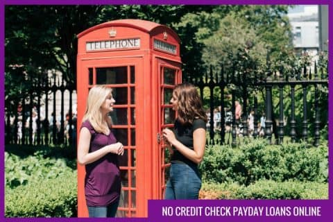 No credit check payday loans online