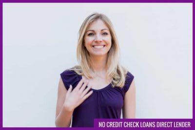 No credit check loans direct lender