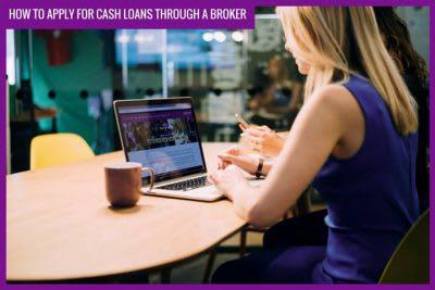 cash loans through a broker