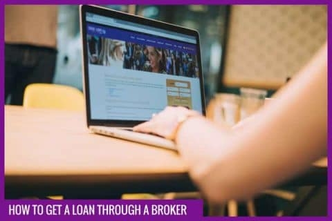 get a loan through a broker