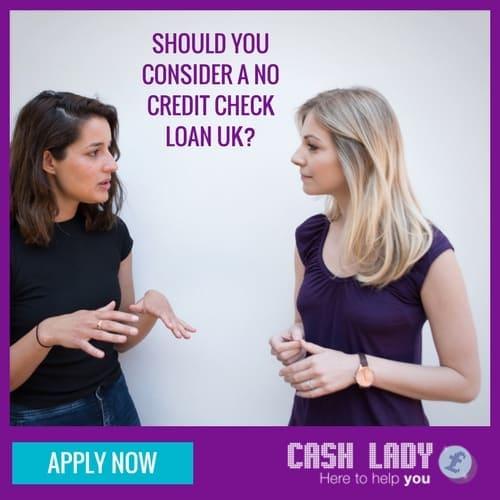 no credit check loans UK