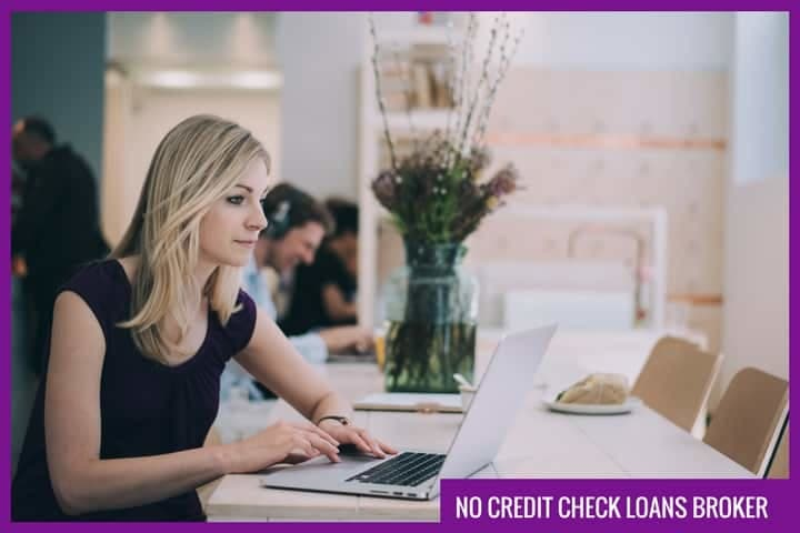 no credit check loans broker