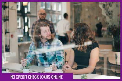 No credit check loans online