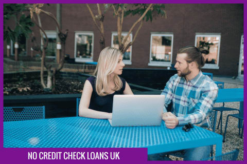 No credit check loans UK