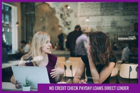 no credit check payday loans direct lender
