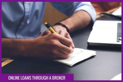 online loans through a broker