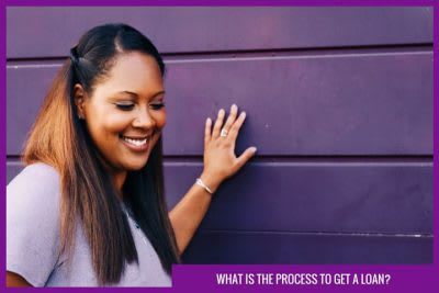 process to get a loan
