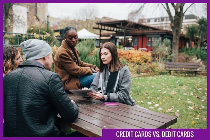 Credit vs debit cards