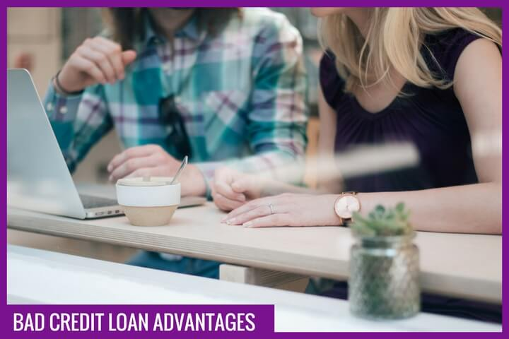 Advantages of a bad credit loan