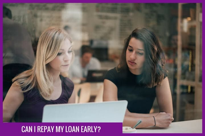 Can i repay my loan early?