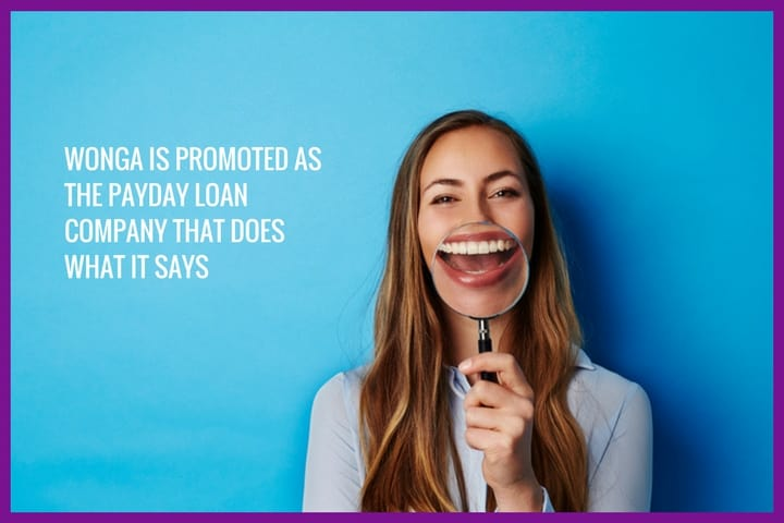 Wonga - the payday loan company that does what it says