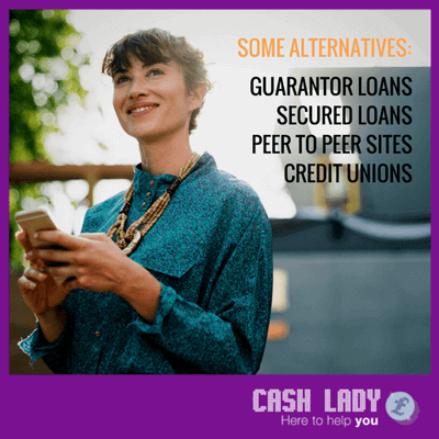Some alternative loan products for bad credit payday loans
