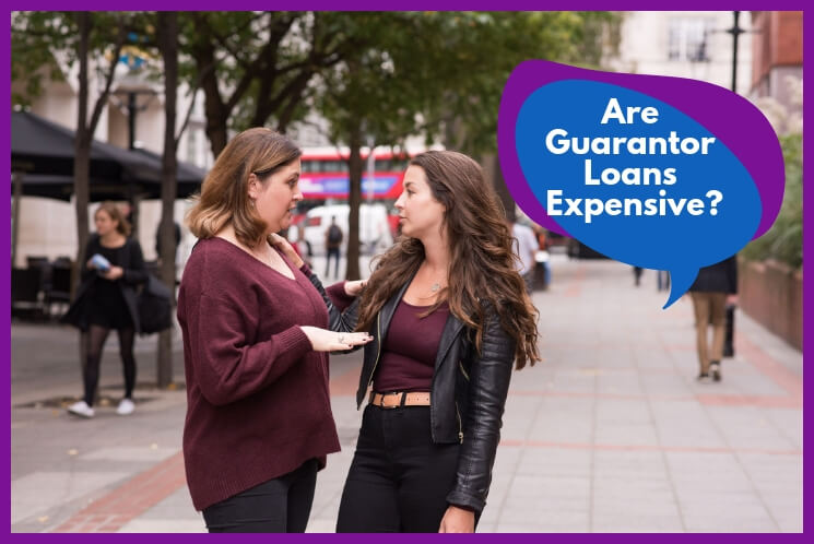 Young people discussing the guarantor loans that can be especislly useful for people with bad or no credit history.