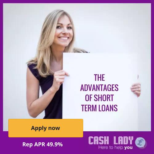 The advantages of short term loans