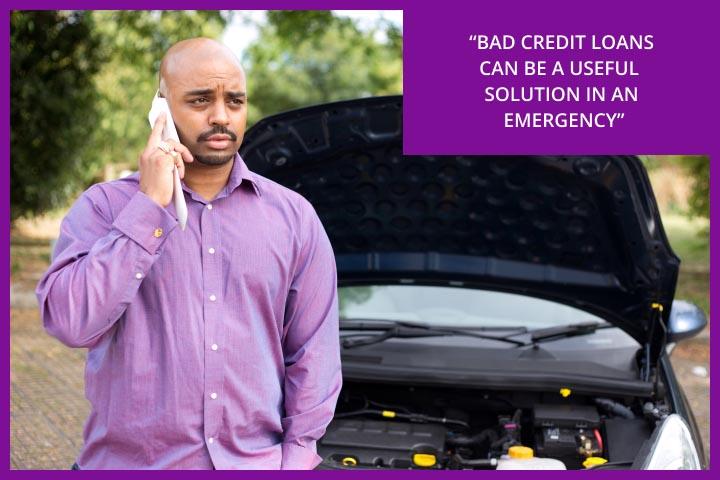 Bad credit loans are often useful for financial emergencies like a car breakdown.