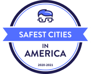 MoneyGeek Safest Cities in America Badge