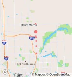 Flint: Dort Highway (M-54) Between E Pierson Road and E Morris Road