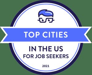 MoneyGeek's Top Cities In The US For Job Seekers 2021