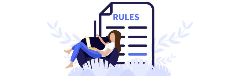 A woman lounges comfortably on the couch as she reads the rules for credit and debit cards.