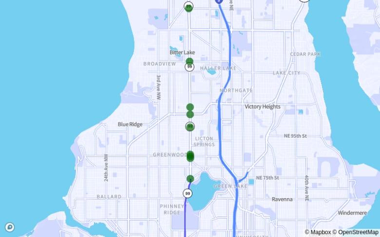 Shoreline-Seattle: SR-99