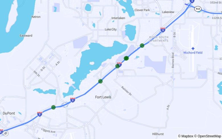 Lakewood Center-Lakewood: I-5