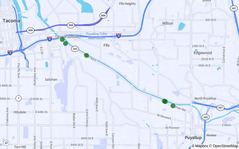 Tacoma-Puyallup: SR-167