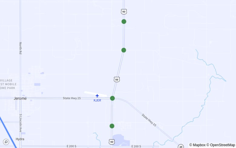 Map of I-84 Between Exit 13 and Exit 9