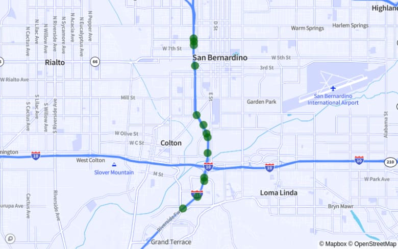 Colton | San Bernardino map