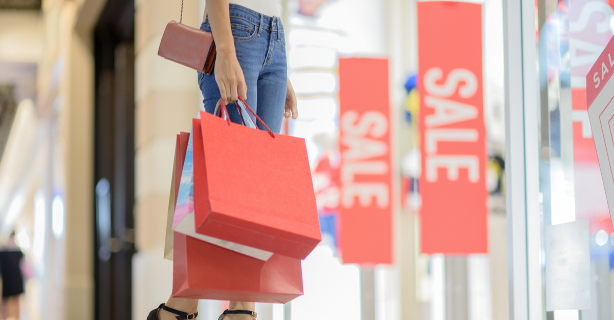 Store with sale