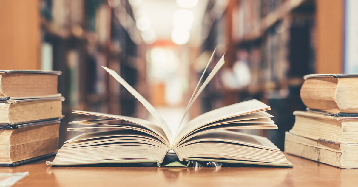 Book in library