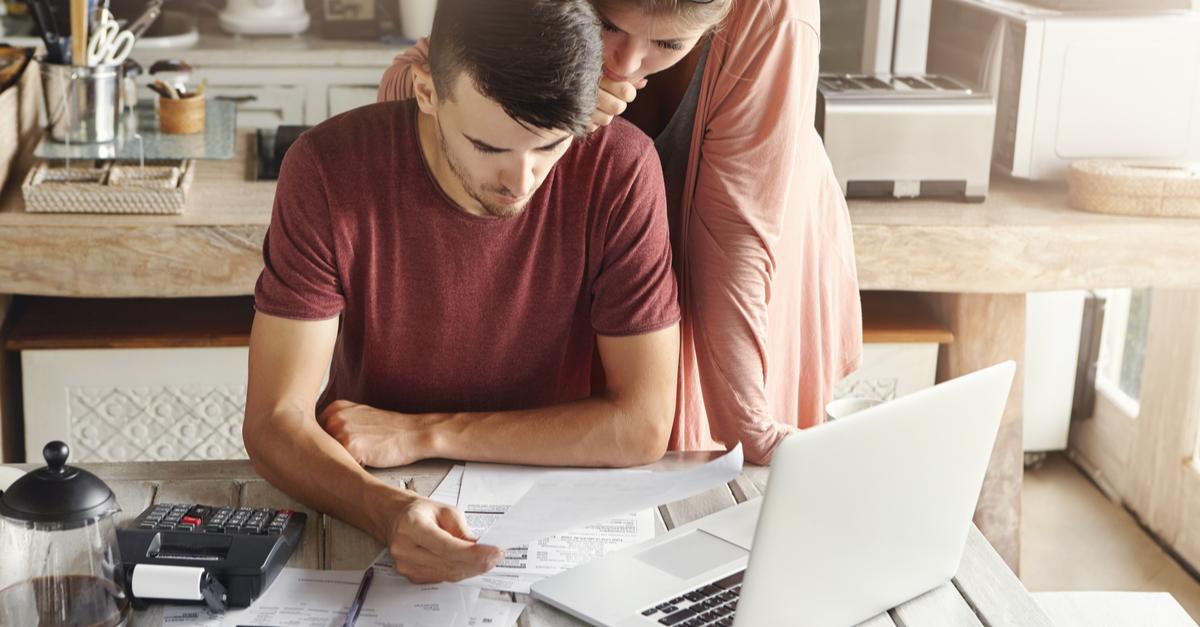 A couple considers a debt management plan