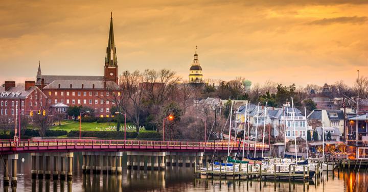 Annapolis Harbor, Maryland