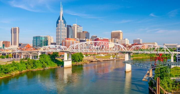Cumberland River, Nashville, Tennessee