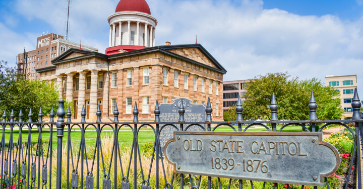 The Old State Capitol State Historic Site, Springfield, Illinois