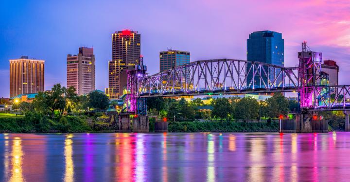 Arkansas River, Little Rock, Arkansas