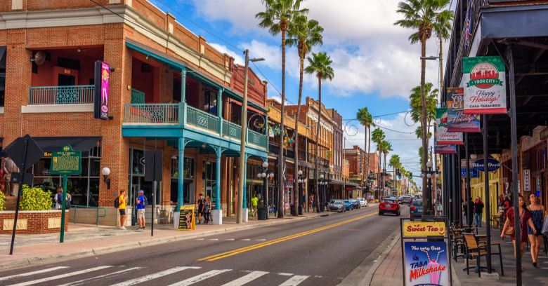 A historic neighborhood in Tampa, Florida