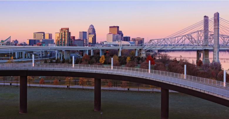 A bridge Louisville, Kentucky